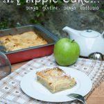 Trancetto di Apple Cake a modo mio, gluten e lactose free: un esperimento!