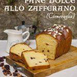 Pane dolce allo zafferano per Cerealia Wellness