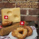 Ciambelle salate con Emmentaler DOP, cipolla e timo