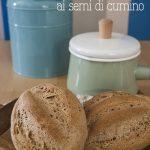 Pane polacco di segale e frumento ai semi di cumino