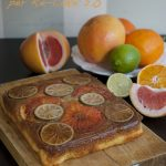 Winter Citrus Upside Down Cake per Re-Cake 2.0 di marzo