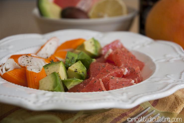 salade-fraicheur-avocado-surimi-pompelmo