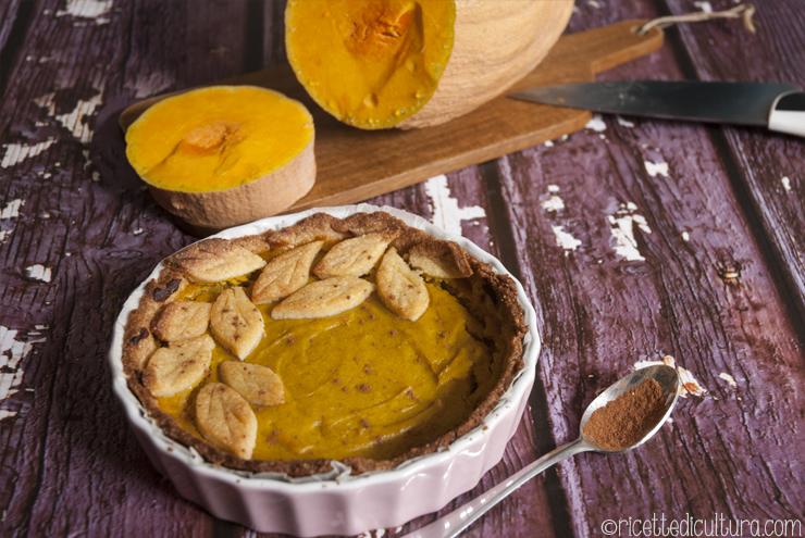 Pumpkin pie per la Festa del Ringraziamento