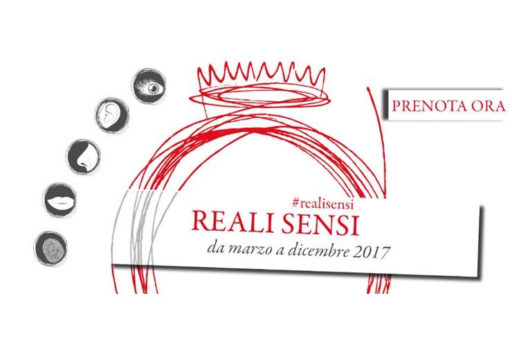 Alla scoperta delle Residenze Reali con Reali Sensi: il gusto Le Residenze Reali da scoprire con i cinque sensi, è la volta del gusto.