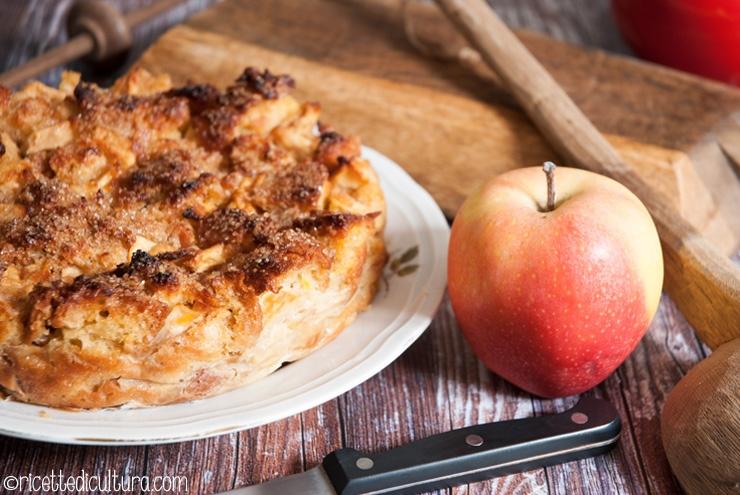Torta di mele: la glara di mele La torta di mele tradizionale della Val Pellice: semplice, profumata e di riciclo