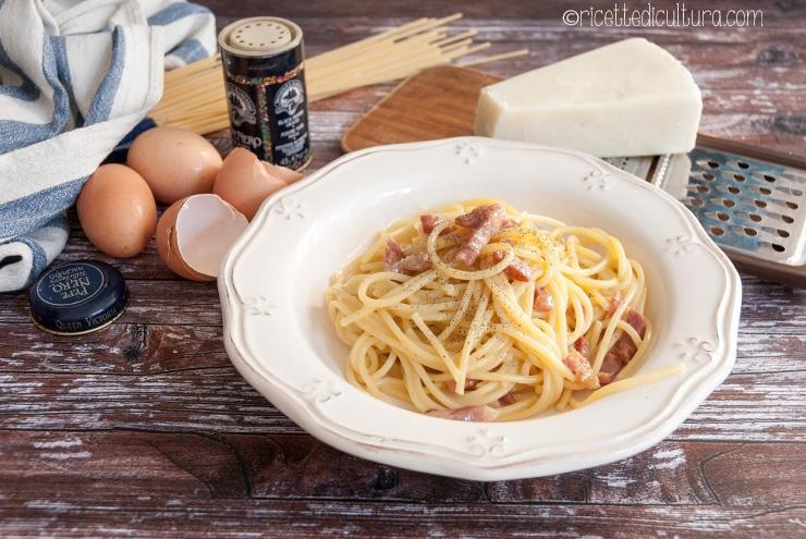 Carbonara, los ingredientes históricos y la receta La verdadera reina de la cocina romana