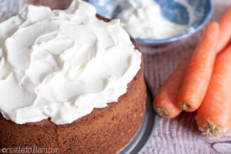 Torta di carote e noci Da una ricetta di Tessa Kiros