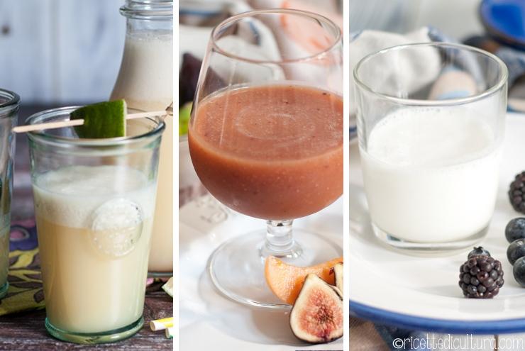 Tre bevande dissetanti Le più amate di questa estate 2018, freschissime e leggere