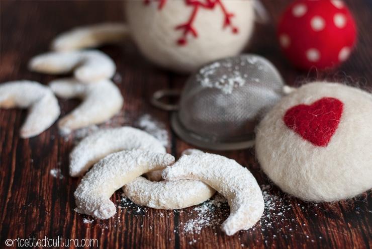 Kipferl alla vaniglia I biscottini alla vaniglia più delicati che ci siano