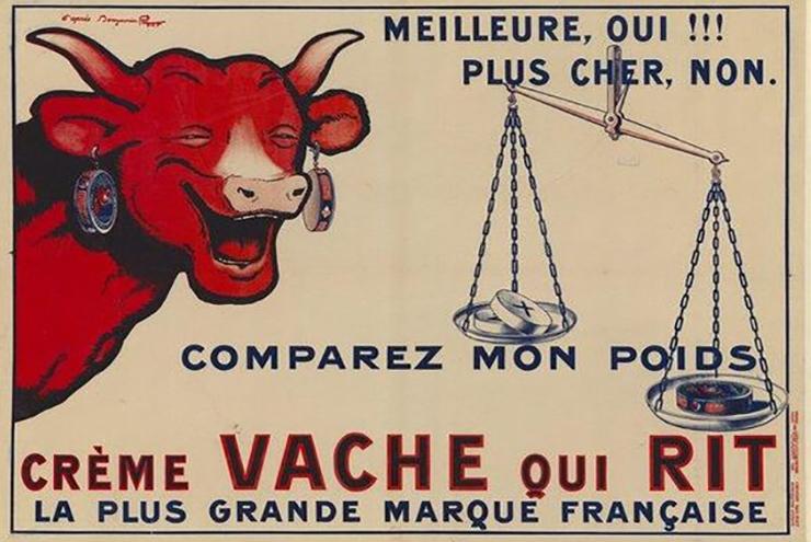 La Vache qui rit, una storia di successo Il formaggino conosciuto in tutto il mondo