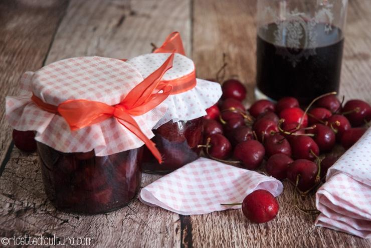 Ciliegie al vino rosso Una conserva facilissima e dalla golosità irresistibile