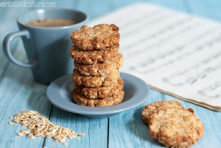 Anzac Biscuits – i biscotti australiani con avena e cocco Arrivano dall'altra parte del mondo, si preparano in un attimo