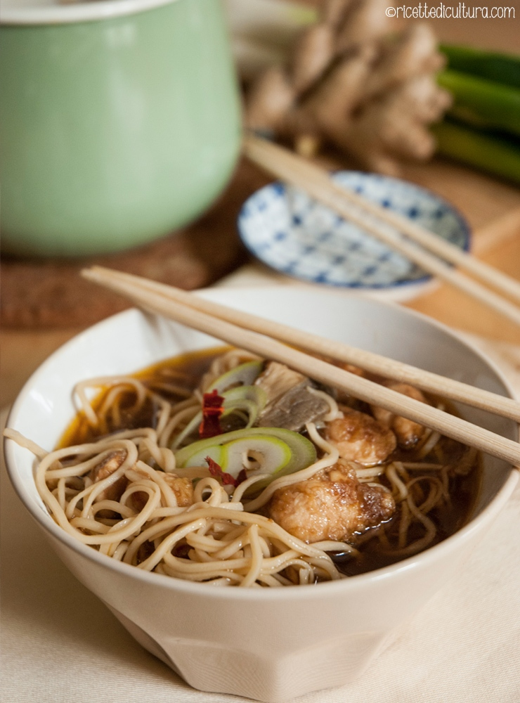 Ricetta Noodles Giapponesi Pollo.Zuppa Di Miso Con Noodles E Pollo Ricette Di Cultura