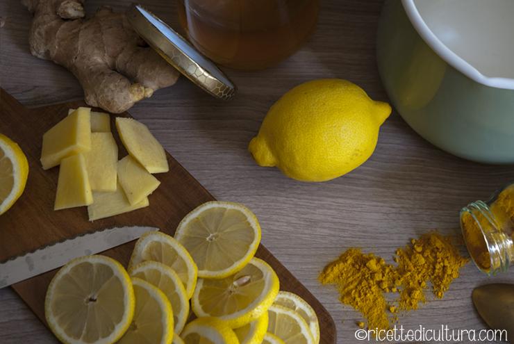 Risultati immagini per curcuma zenzero e limone