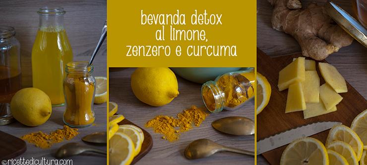 zenzero e limone per dimagrire ricetta