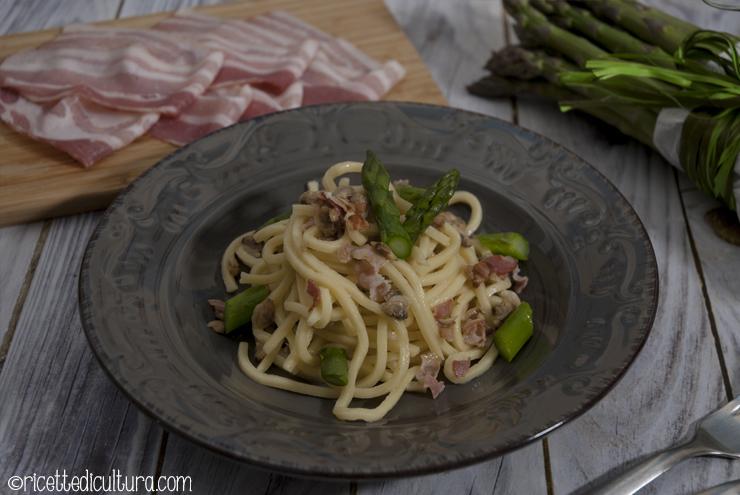 troccoli bacon vongole e asparagi_2