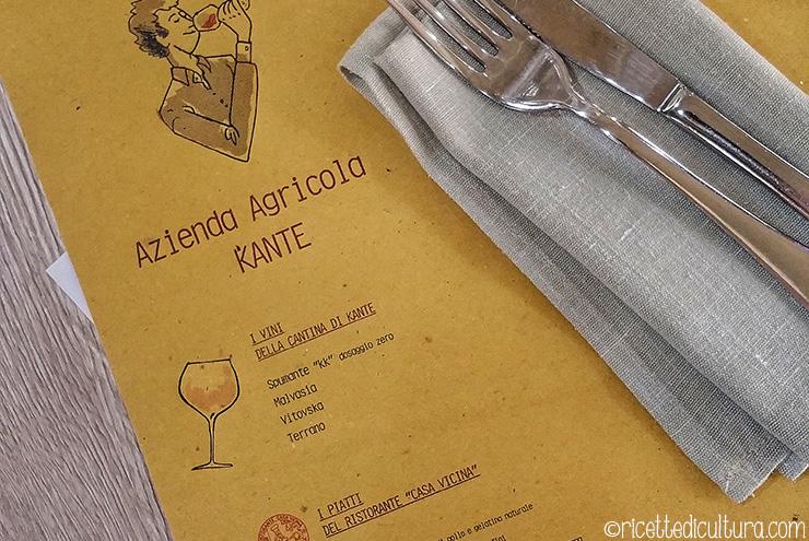 A cena con il produttore – Eataly incontra Kante Inizia la nuova serie di cene di abbinamento vino-cibo da Eataly Lingotto