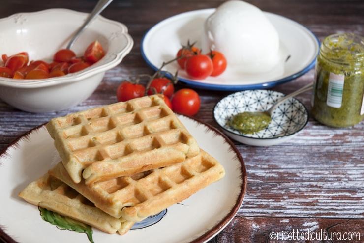 waffles-pesto