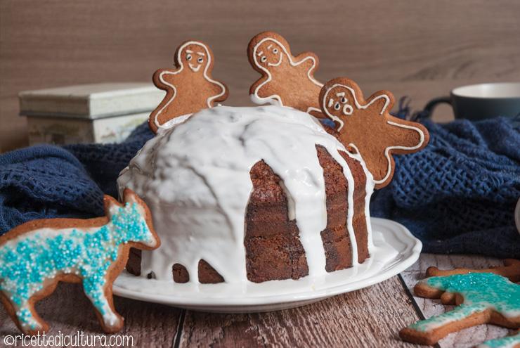 Gingerbread cake La torta con il profumo del Natale