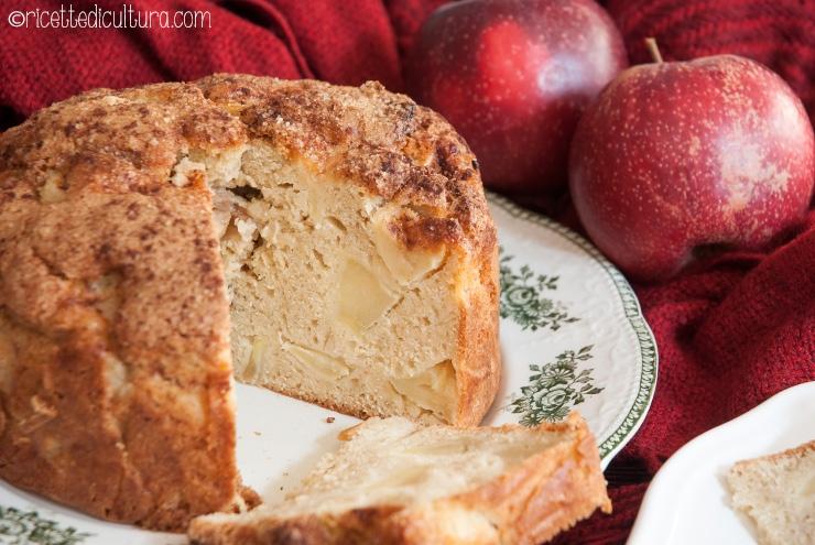 """Torta di mele irlandese Un """"pane"""" di mele alto e goloso, perfetto per la colazione"""