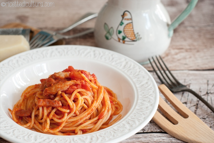 The real Amatriciana The story of a myth