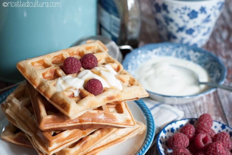 wafel allo yogurt