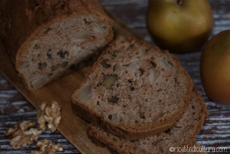 Pane dolce con noci e pere Soffice, dal gusto speziato ma delicato, senza burro.