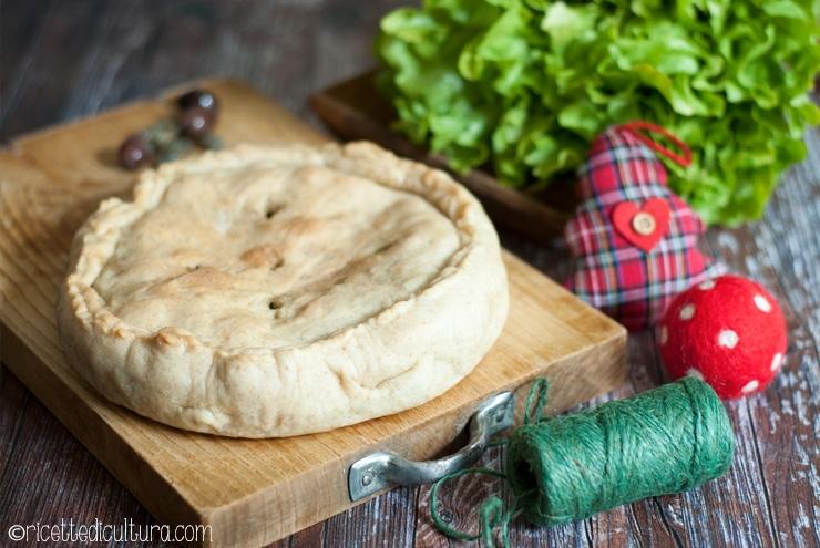 Pizza di scarole Piatto della Vigilia della tradizione napoletana