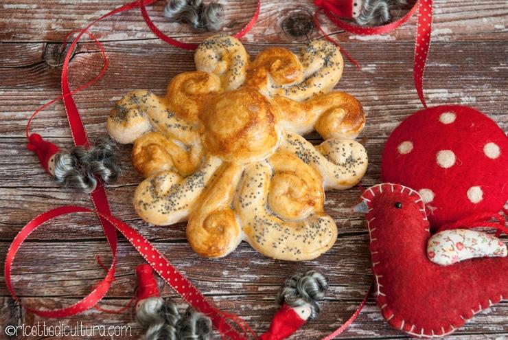 Il sole di pane Un centrotavola per il Solstizio... ma anche per il Natale