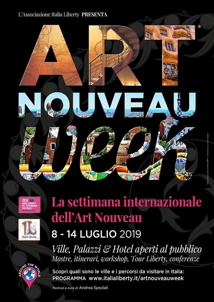 locandina art nouveau week