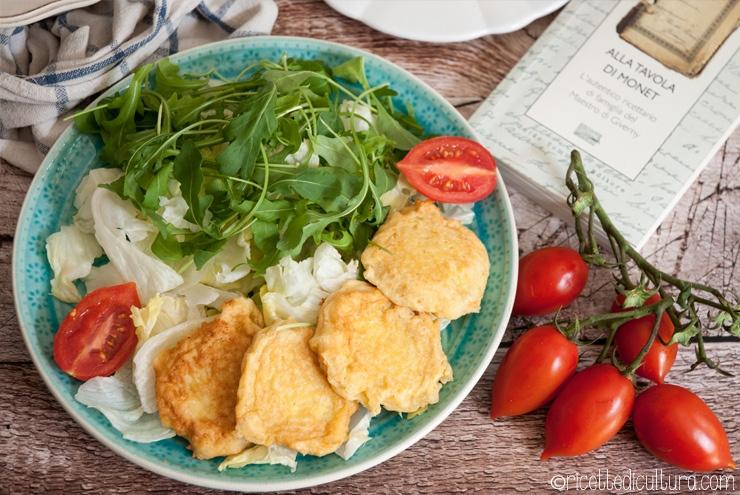 Frittatine di formaggio, dal ricettario di Monet Semplicissime, ma golose!