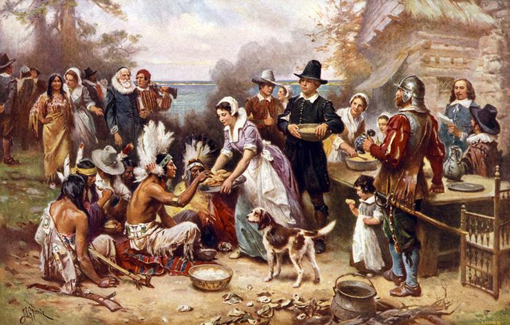 Il menù del Giorno del Ringraziamento Una ricerca storica ci fa scoprire il primo menù dei Padri Pellegrini