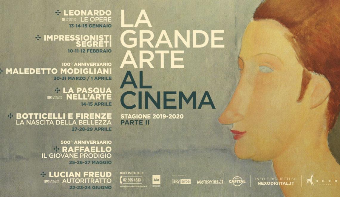 """""""Leonardo – Le Opere"""" e La Grande Arte al Cinema 2020 Nuovi documentari d'arte, per meravigliarsi al cinema"""
